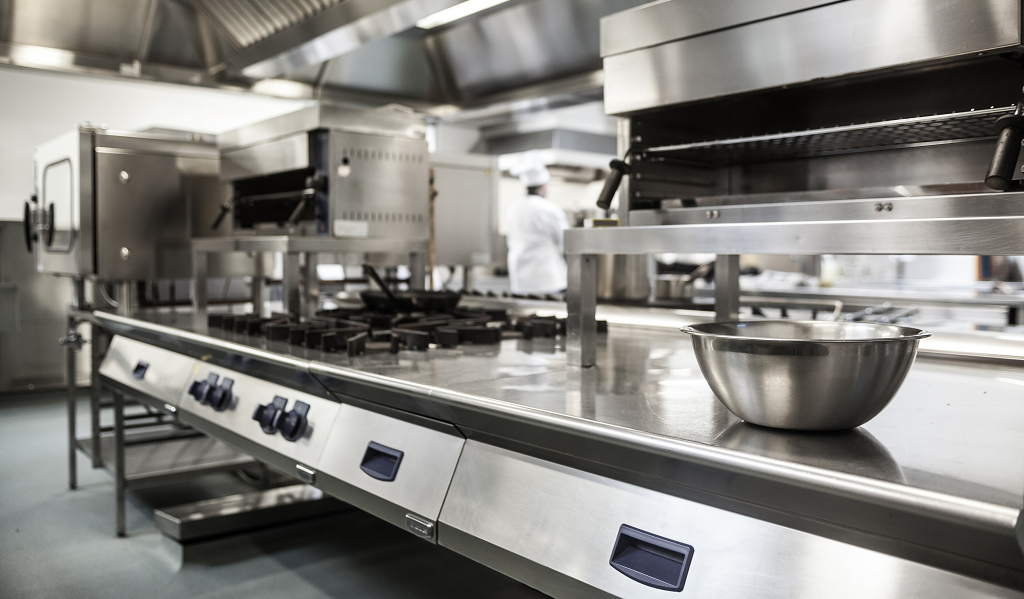 thiết bị bếp nhà hàng
