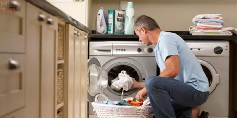 Mua máy giặt công nghiệp cho khách sạn, tiệm giặt là