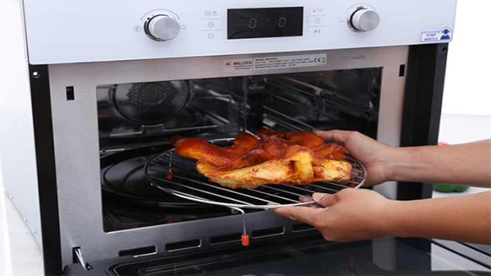 lợi ích khi sử dụng lò nướng trong nấu ăn