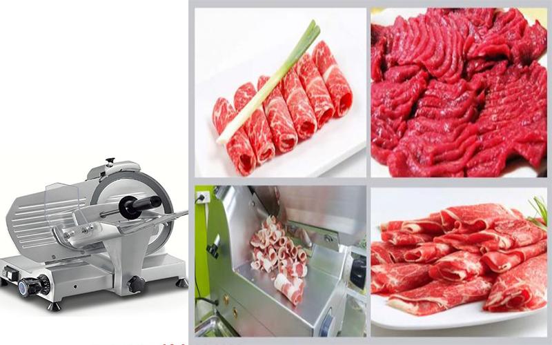 Nguyên lý hoạt động của máy thái thịt sống nhà hàng