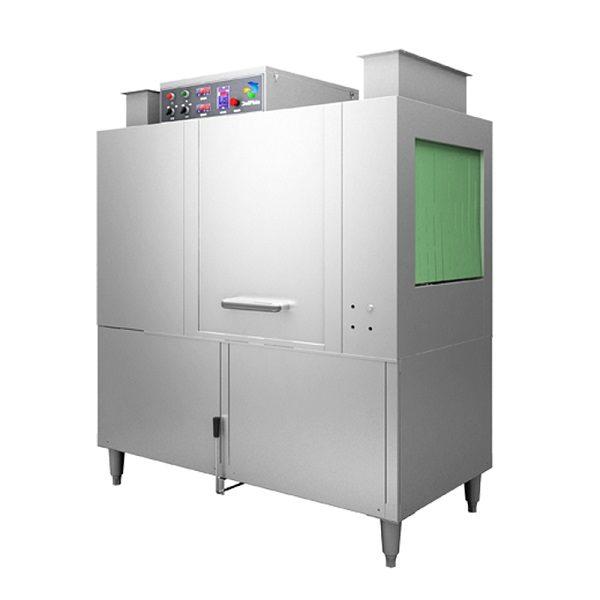Nguyên lý hoạt động của máy rửa bát công nghiệp.